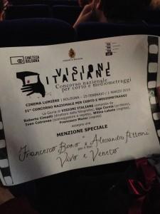 premio #visioniitaliane